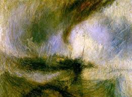 1-William Turner Tormenta de Nieve en Alta Mar