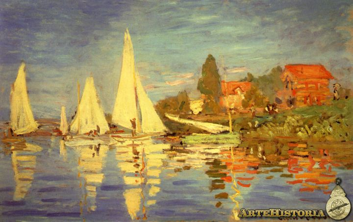4- Monet- Regata en Argentuil