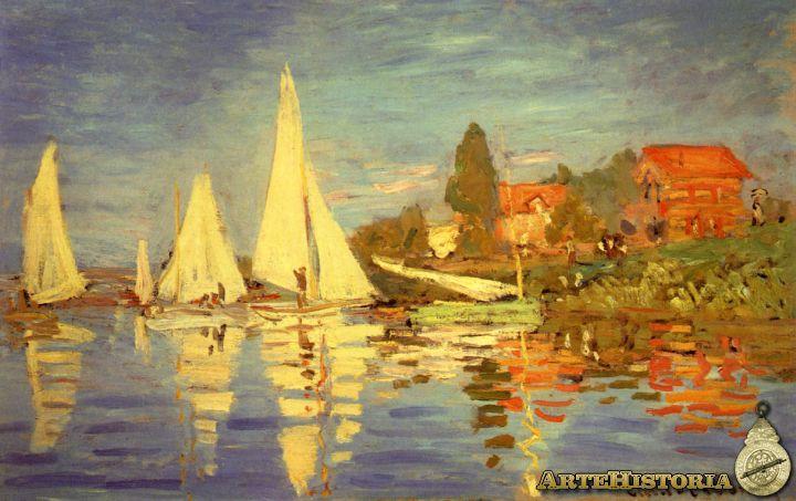 4- Monet- Regata en Argentuil
