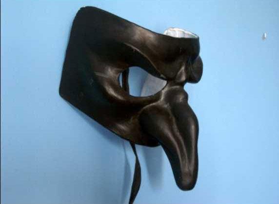 Imagen 3. Máscara peste negra