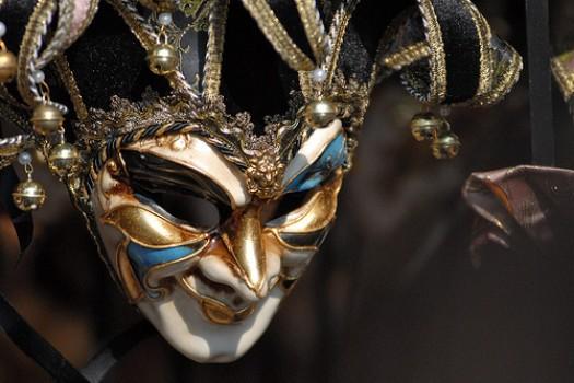 Imagen 5. Máscara veneciana