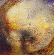 Light and Colour (Goethe's Theory) ÔÇö The Morning after  the Deluge ÔÇö Moses writing the Book of Genesis, de Turner.