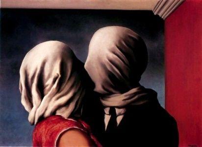 Los amantes. René Magritte
