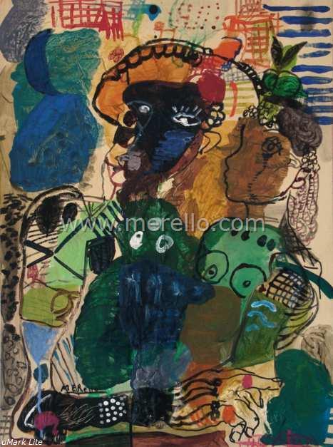 6.art_moderne_contemporaine_peinture_espagnole-merello.-el  _ventriloquo _azul _(73x54 _cm) _mixta-tabla_467x627