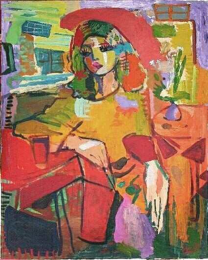 7.merello.-Mujer en rojo (g)