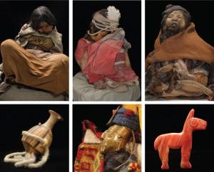 Foto 2 - Momias y objetos