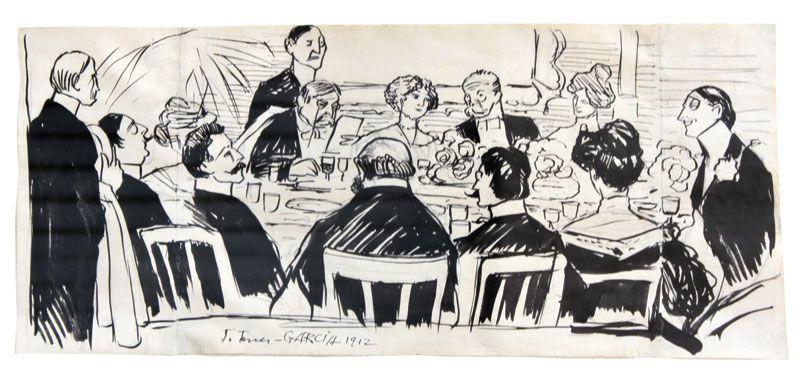 El banquete Torres Garcia (1912)