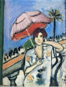 Mujer con sombrero, Henri Matisse