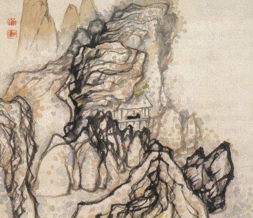 Shitao Ermita en la montaña