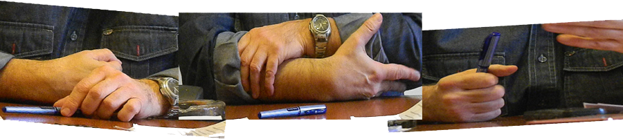 manos horizontal para Aliberti