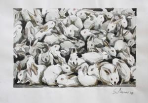 Conejos blancos, de Victor Solana Espinosa