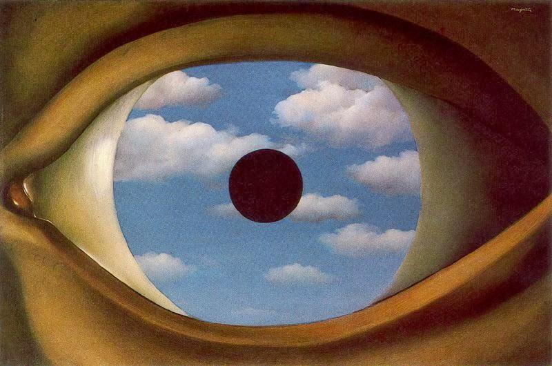 005 - Magritte, B El falso espejo