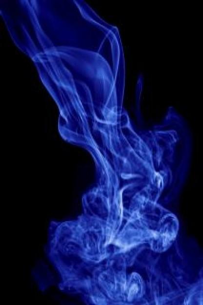 imagen humo azul magia