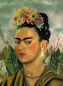 Autorretrato dedicado al Dr. Eloesser, Frida Kahlo (1940)