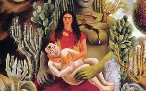 El amoroso abraso del Universo, la Tierra (México), Yo, Diego y el Señor Xólothl, Frida Kahlo (1949)