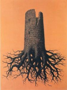08 René Magritte - La locura de Allmayer (1951)