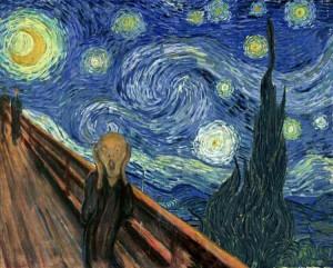 La noche de Van Gogh y El grito de Munch