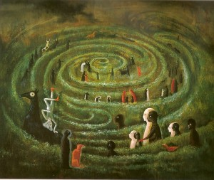 Leonora-Carrington_he-labyrinth
