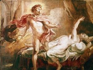 Muerte de Semele-Rubens-1640-Museos Reales de Bellas Artes-Bruselas.