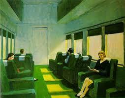 Dos en el pasillo, Hopper.