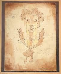 Ángelus Novus,  Paul Klee.