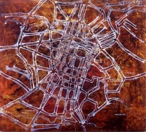 Guillermo Kuitca. Untitled -Torino- 1993-95