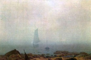Niebla, Caspar David Friedrich.