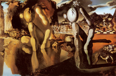 La metamorfosis de Narciso, Salvador Dalí