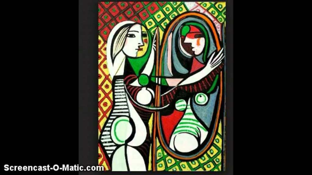 "IMAGEN X ""Mujer frente al espejo"", Pablo Picasso, 1932"