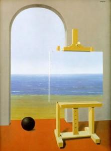 Magritte -La condicion humana