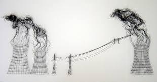 Elodie Antoine  Arquitectura a puntadas de hilo negro