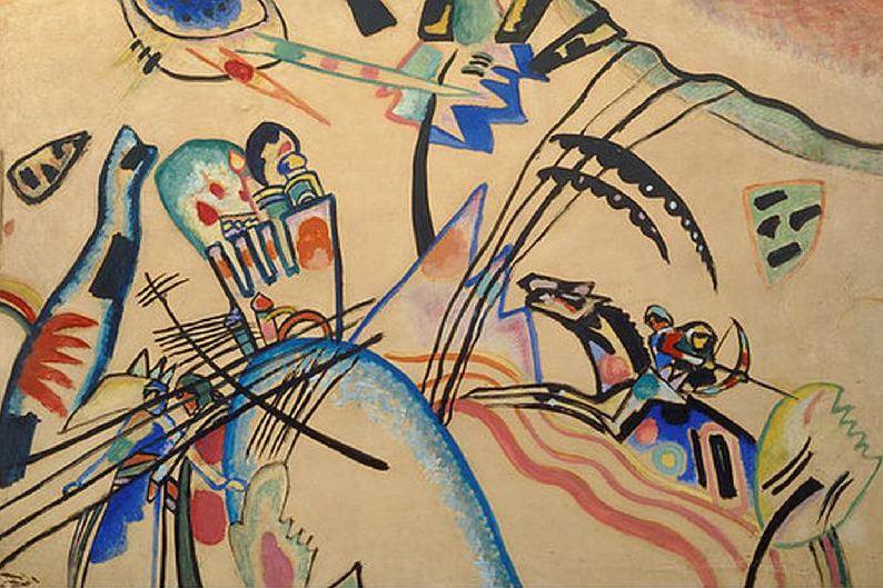 Iimprovisacion 1913 Kandinsky