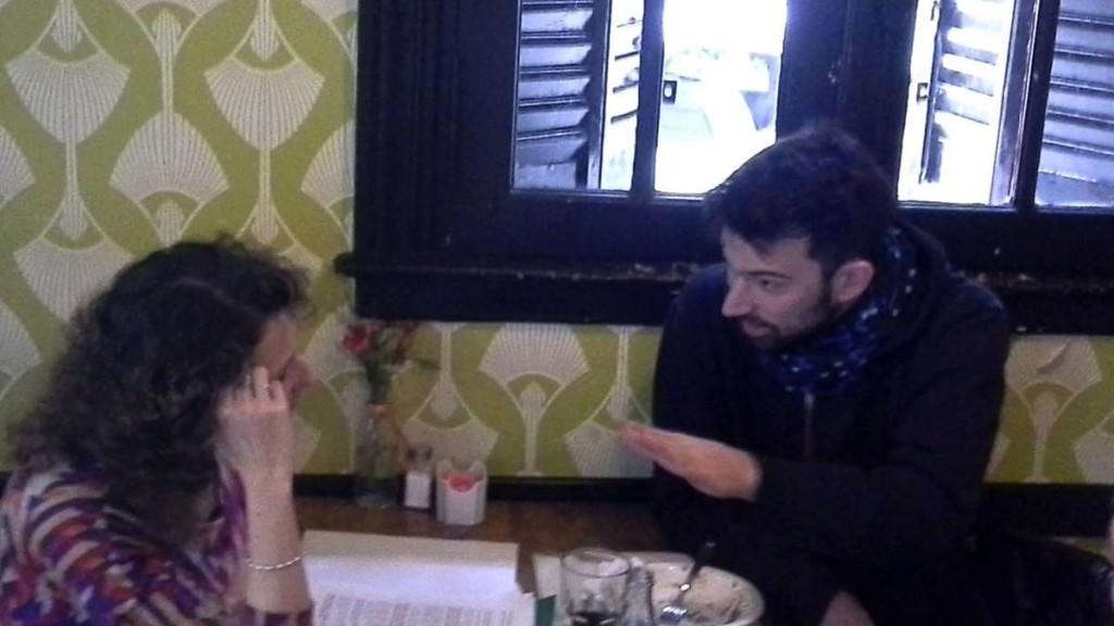 Pedro Rosemblat con El Anartista