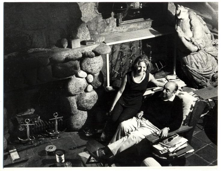 Fotografía del libro Pablo Neruda en Isla Negra. Sara Facio