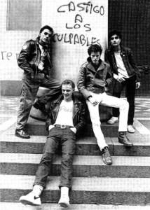 Los Violadores circa 1984