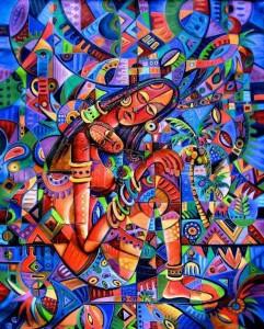 Pinturas, artistas africanos