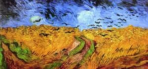 Campo di grano con corvi (1890) V.Van Gogh