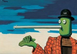 René Magritte - L´Ellipse