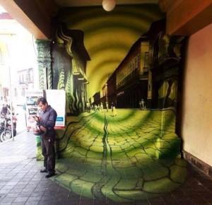 Arte urbano - Pasadizo México