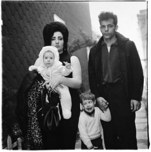 Diane Arbus, A Young Brooklyn Family Going for a Sunday Outing