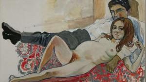 Alice Neel - Pregnant Julie and Algis