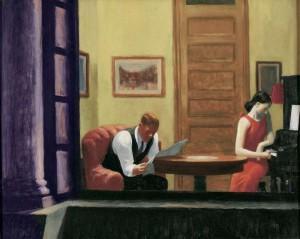 Edward Hopper - Room in New York