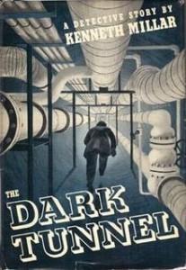 Ross Macdonald - Tapa del libro The Dark