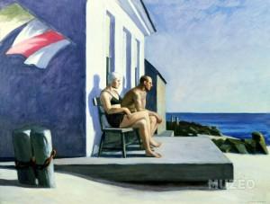 Edward Hopper - Sea watchers