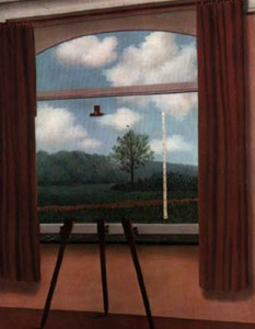 Condición humana- Magritte