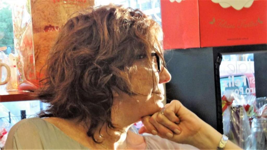 Cecilia Rossetto. Foto: Alicia Usardi.