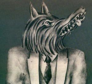 El lobo hombre - Ilustración cuentos de Boris Vian