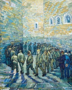 La ronda de los presos - Vincent Van Gogh
