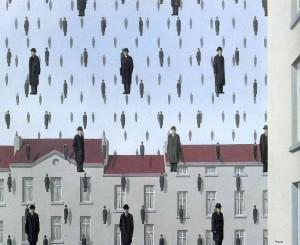 Rene Magritte - Gonconda - 1953
