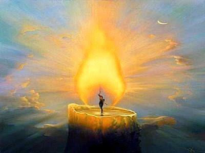 """""""La vela"""", Salvador Dalí"""